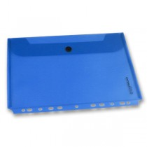 Zakládací obálka FolderMate PopGear modrá, A4