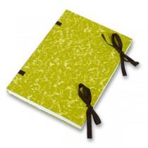 Desky s tkanicí Hit Office žluté