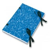 Desky s tkanicí Hit Office modré