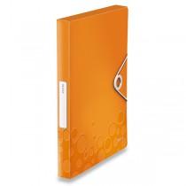 Box na dokumenty Wow - A4 oranžový