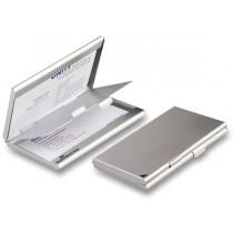 Zásobník na vizitky Durable - stříbrný na 2 x 10 vizitek