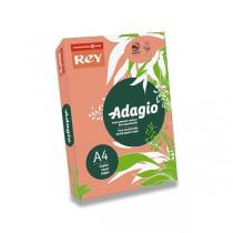 Barevný papír Rey Adagio broskvový