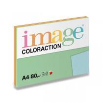 Barevný papír Image Coloraction - Mix reflexní 80 g, 5 x 20 listů