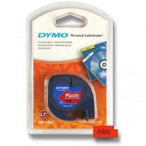 Pásky Dymo pro štítkovač LetraTag červená plastová