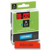 Samolepicí polyesterové pásky Dymo pro štítkovače černá / červená