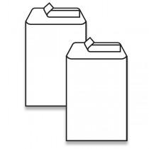 Bílá obálka Clairefontaine C5, samolepicí, bez okénka