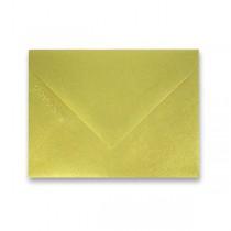 Barevná obálka Clairefontaine zlatá, 75 x 100 mm