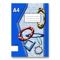 Školní sešit EKO 440 A4, čistý, 40 listů