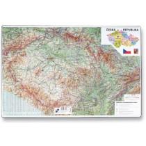 Podložka na stůl - Mapa České republiky 60 x 40 cm