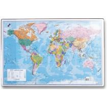 Podložka na stůl - mapa světa 60 x 40 cm