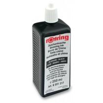 Tuš pro technická pera Rotring černá, 250 ml