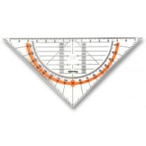 Geometrický trojúhelník Rotring Cento přepona 16 cm