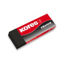 Pryž Kores Eraser Black 20 na tužku