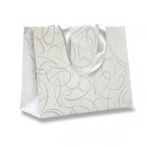 Dárková taška Premium White 320 x 130 x 250 mm