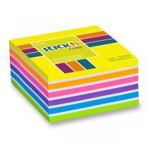 Samolepicí bloček Hopax Stick'n Notes Neon žlutý
