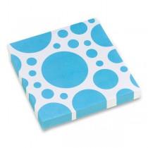 Ubrousky Solid Color Dots modré