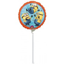 Fóliový party balónek - Mimoni průměr 23 cm