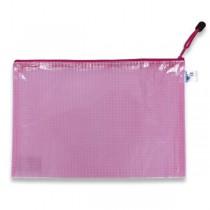 Síťovaná plastová obálka Karton P+P růžová