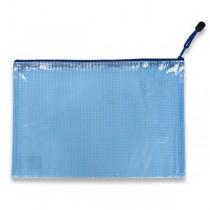 Síťovaná plastová obálka Karton P+P modrá