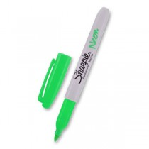 Permanentní popisovač Sharpie Neon zelený