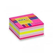 Samolepicí bloček Hopax Stick'n Notes Neon růžový
