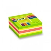 Samolepicí bloček Hopax Stick'n Notes Neon zelený