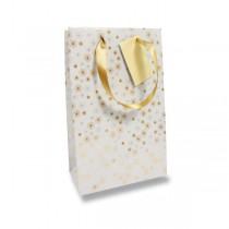 Dárková taška Premium Christmas White 170 x 60 x 220 mm