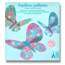 Závěsná dekorace Djeco - Motýli