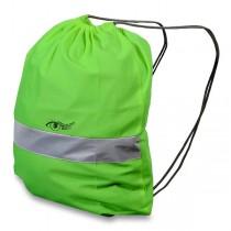 Batoh reflexní zelený