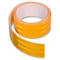 Samolepící reflexní páska 5 cm x 1 m žlutá