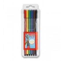Fixy Stabilo Pen 68 6 barev