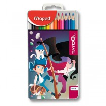 Pastelky Maped Color´Peps Metal Tatoo 12 barev