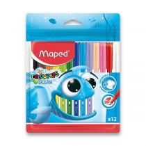 Dětské fixy Maped Color´Peps Ocean 12 barev
