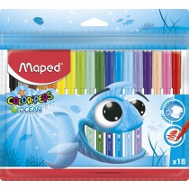 Dětské fixy Maped Color´Peps Ocean 18 barev