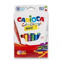 Dětské fixy Carioca Color Change 9 barev + kouzelný fix