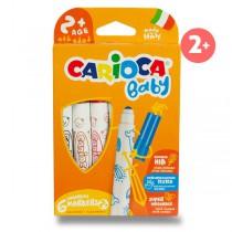 Dětské fixy Carioca Super Baby 6 barev