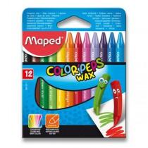 Voskovky Maped Color´Peps Wax 12 barev, trojhranné