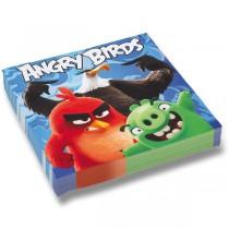 Papírové ubrousky Angry Birds Movie 33 x 33 cm, 20 ks