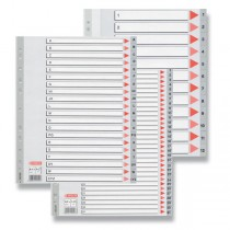 Rozlišovač Esselte Maxi 1 - 12, 12 listů