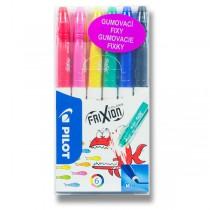 Gumovací fixy Pilot 4204 FriXion Colors 6 barev
