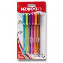 Kuličková tužka Kores 398 K1 6 barev