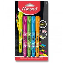 Zvýrazňovač Maped Fluo Peps Pen sada 5 barev