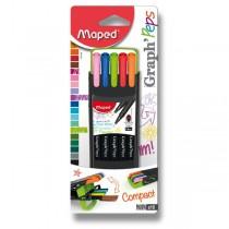 Linery Maped Graph´Peps Compact sada 10 barev