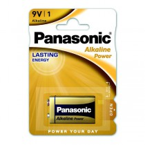 Baterie Panasonic Alkaline Power 9V, blistr