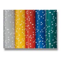 Dárkový balicí papír Alliance Irregular dots 2 x 0,7 m, mix barev