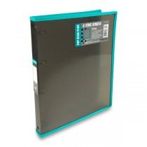 4kroužkový pořadač FolderMate Pop Gear Plus kouřový
