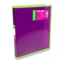 4kroužkový pořadač FolderMate Pop Gear Plus červený