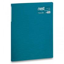Katalogová kniha FolderMate Nest modrá