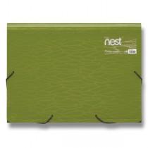 Aktovka na spisy FolderMate Nest zelená