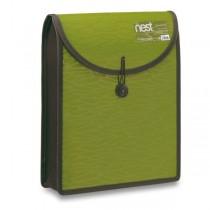 Aktovka na dokumenty FolderMate Nest olivově zelená